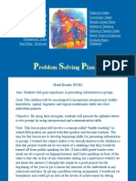 problem solving lesson plan3