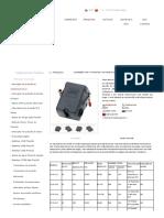 Pressostato Lefoo LF10 25-175 PSI