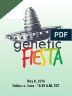 Genetic Fiesta 2016