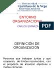 entorno organizacional ppt