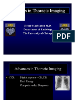 Advances in Thoracic Imaging