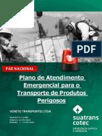 plano de ação emergencial transporte de produos químicos