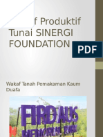 Wakaf Produktif ,Badan Pengelola Wakaf , Lembaga Pengurus Wakaf