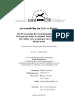 Accountability im Dritten Sektor