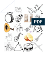 Picture Dictionary Musical Instrument