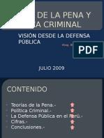 TEORIA DE LA PENA