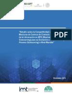 Estudio de Competitividad IMT