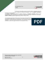 Resina Lewatit c 249 Ns Sp