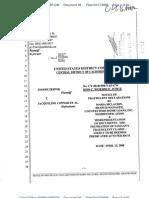 08-04-17 Zernik v Connor et al (2:08-cv-01550) Dkt #038 Countrywide's McLaurin False Declarations under Samaan v Zernik (SC087400)
