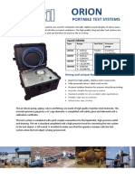 Orion Test Systems Leaflet