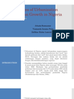 (Ppt 2013)Challenges of Urbanization and Urban Growth in Nigeria
