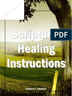 Scriptural Healing Instructions