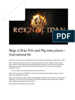 Reign of Man - Free Print & Play (8425786)