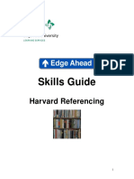 Harvard Referencing Edge Hill
