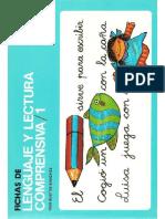 Fichas de Lenguaje y Lectura Comprensiva 1.CEPE