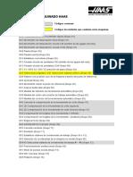 Codigos Comunes Para Boxford - Chevalier - Haas