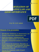 26-11-2015 (1) Modernisation Administrative LLaw-prof Dr G.H. Addink Pd-powerpoint