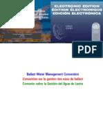 Convenio Internacional para el Control y la gestión del agua de lastre de los buques y sedimentos (BWM)