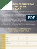 Actividades Económicas en La Provincia de Leoncio Prado