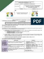 Guía No.4 LA ORACIÓN Y EL ENUNCIADO  7°