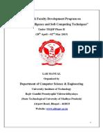 Lab Manual Soft Computing