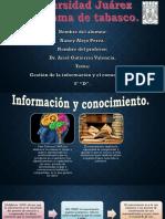 GESTIÓN DEL CONOCIMIENTO E INFORMACIÓN