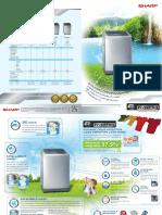 Sharp_Inverter Washer Leaflet