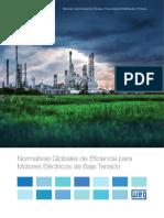 Normativas Globales de Eficiencia Para Motores Electricos de Baja Tension 50065223 Catalogo Espanol