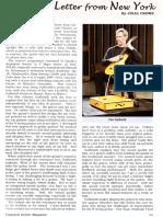 Galbraith guitarist article