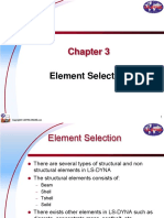 Elements in ls-dyna