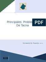 Principales Problemas Tacna- Publicas