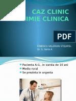 Caz Clinic Biochimie IV