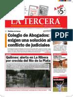 Diario La Tercera 19.04.2016