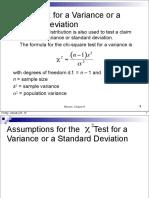 Sec 8 5 x2 Test for a Variance or Standard Deviation 1