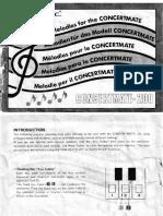 Concertmate 200 Songbook