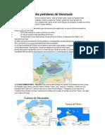 Zonas Potenciales Petroleras de Venezuela