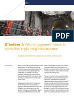 E Before I Why Engagement Needs to Come First in Planning Infrastructure