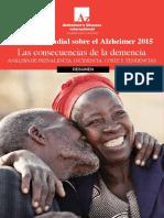 World Alzheimer Report 2015 Executive Summary Spanish