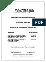 Estudio Del Trabajo II Praticas Enero-junio. 2011