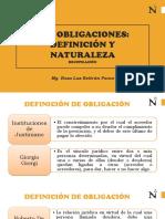 Sem 1 Obligaciones Definicion y Naturaleza