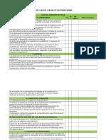 Lista de Chequeo Etica Profesional y Rse, 2014 - 02