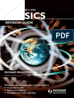 Cambridge International as & a Level Physics Revision Guide - Richard Woodside, Chris Mee (Hodder)
