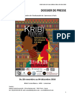 Kribi Festiv'Art 2016