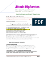 3ª Fase   Desintoxicación hepática Método Hipocrates