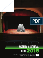 Cartelera Digital Abril 2016
