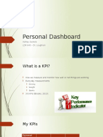 personal dashboard