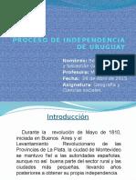 Presentación Independencia Uruguay
