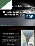 Fossa de Mariana