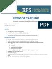 ICU Clinical Goals