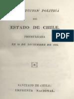 Constitución Política de Chile 1823